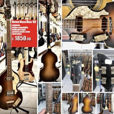 Hofner - Violin Bass del...